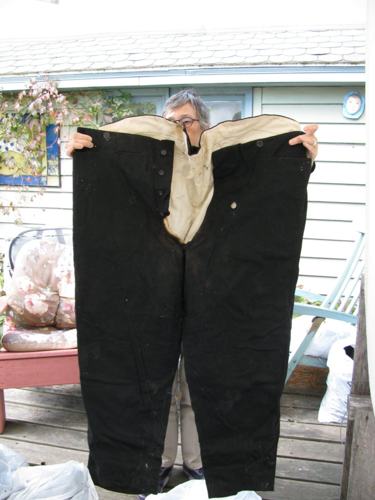 WC Bradley pants from trunk storage - black